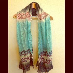 Sudha Pennathur extra long scarf